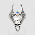 Skull & Bat Wing Ring