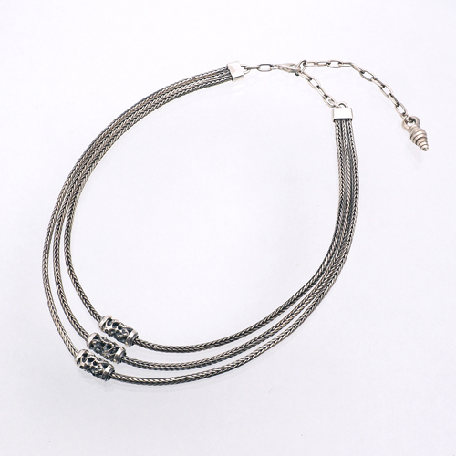 Triple Beads Neck Chain