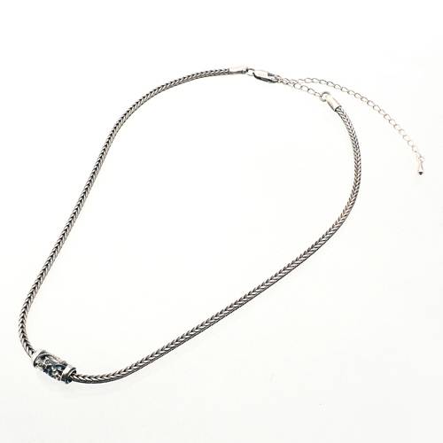 Single Bead Neck Chain