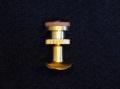 Lechner 可動式支柱 台座ネジなし 金メッキ