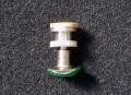 Lechner 可動式支柱 台座ネジなし 銀メッキ