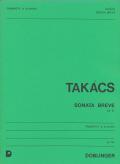 Takacs トランペットソナタ