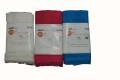 浴用 ハードメッシュタオル 快 ホワイト、ピンク、ブルー サイズ:幅50cmx 長さ100cm 綿100% 日本製   3枚 送料無料 メール便につき(代引、コンビニ,不可)