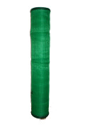 園芸、防鳥・防獣ネット 1x200m(目合12x12mm) 角目ラッセル網 ロープ付き 日本製