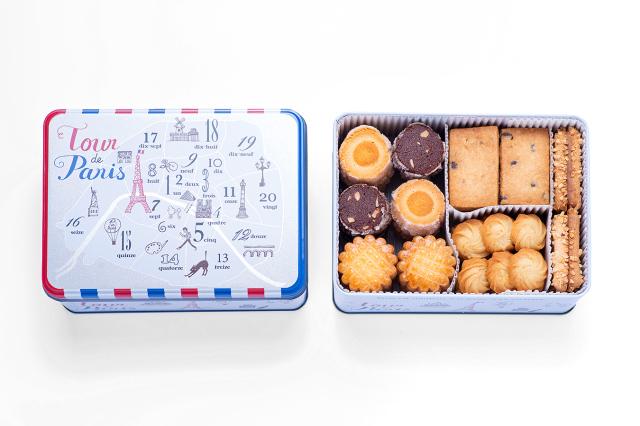 PARIS -パリ缶- ジャンヌトロワのクッキー缶