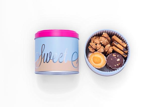 SWEET -スウィート缶- ジャンヌトロワのクッキー缶