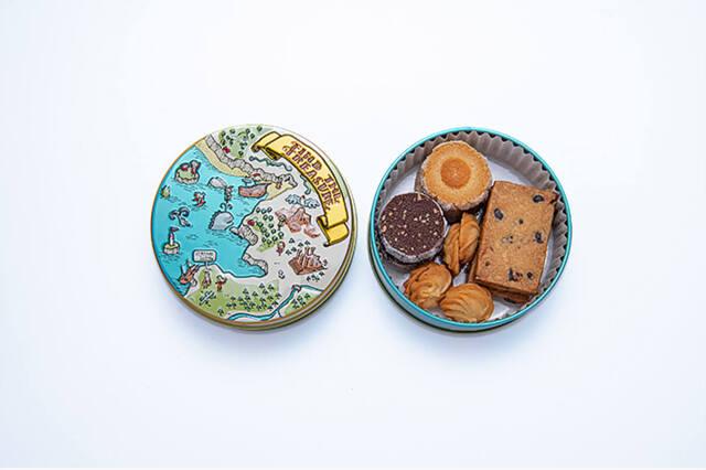 パンダ缶 ジャンヌトロワのクッキー缶