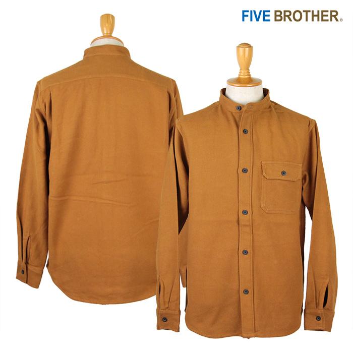 FIVE BROTHER,ファイブブラザー,ネルシャツ,152062