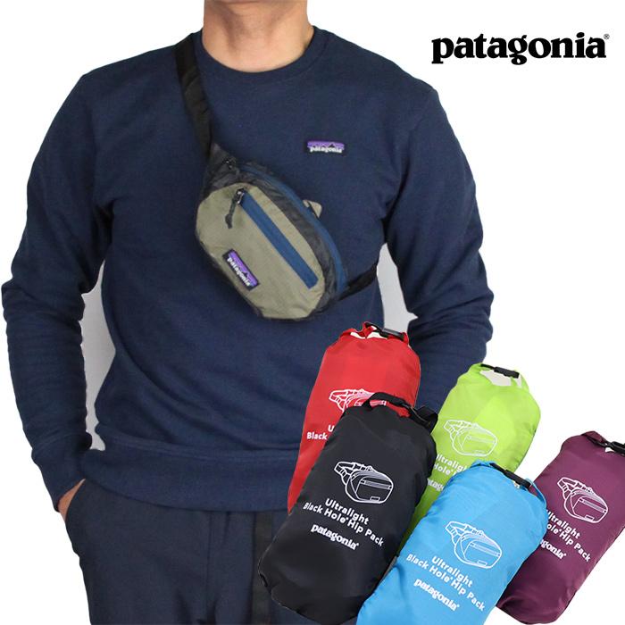 patagonia パタゴニア ウルトラライト・ブラックホール・ミニ・ヒップ・パック 1L 49447