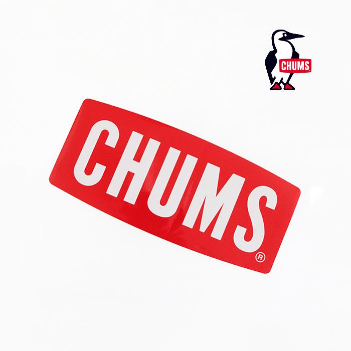 CHUMS チャムス Sticker CHUMS Logo Small ロゴステッカー スモール CH62-1072