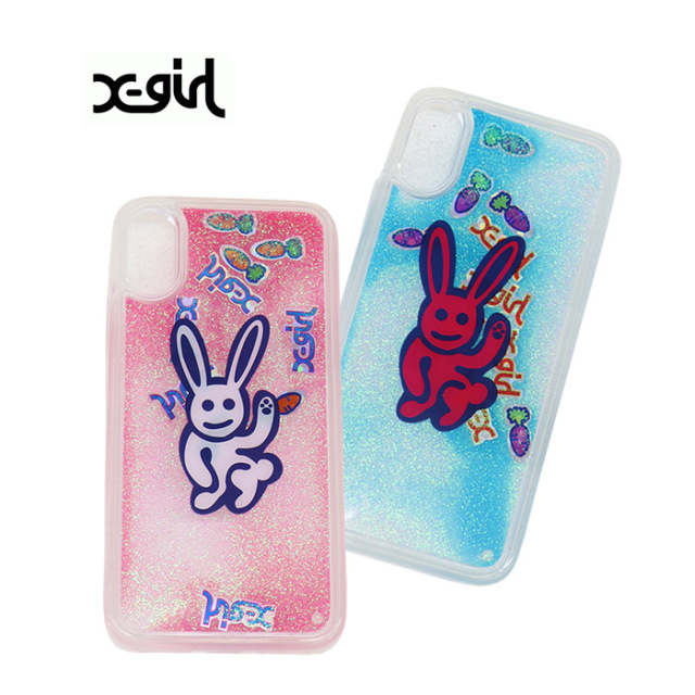 X-girl エックスガール  BUNNY LOVES CARROT MOBILE CASE FOR IPHONE X/XS アイフォンケース 05193037