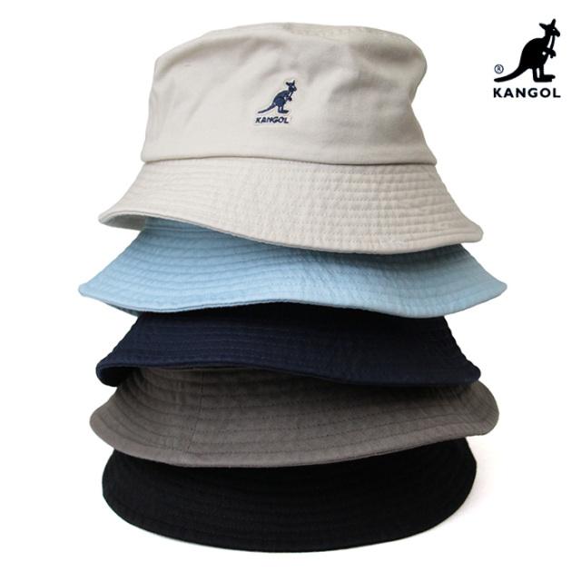 KANGOL カンゴール Washed Bucket ウォッシュド バケットハット 100169215