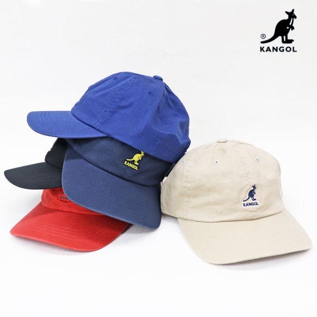 KANGOL カンゴール ユニセックス Washed Baseball ウォッシュド ベースボールキャップ 100169220