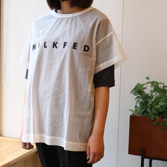 MILKFED.ミルクフェド.Tシャツ103211011006