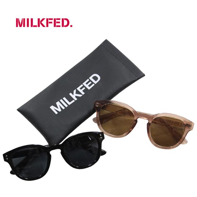 MILKFED ミルクフェド SUNGLASSES BOOTES レディース ケース付きサングラス 103211054001