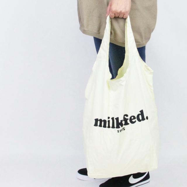 MILKFED ミルクフェド  HEART POCKETABLE TOTE  パッカブルトート103212053017