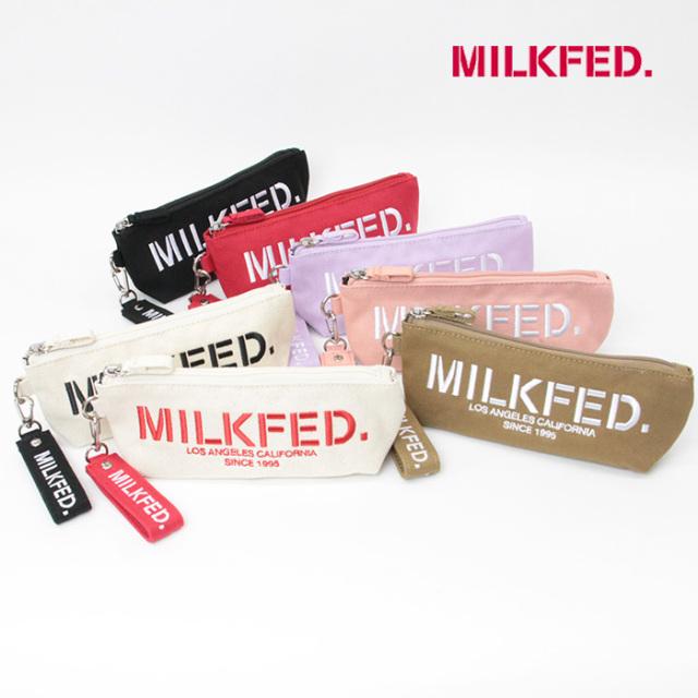 MILKFED ミルクフェド  STENCIL LOGO PENCIL CASE  ペンシルケース103213054005