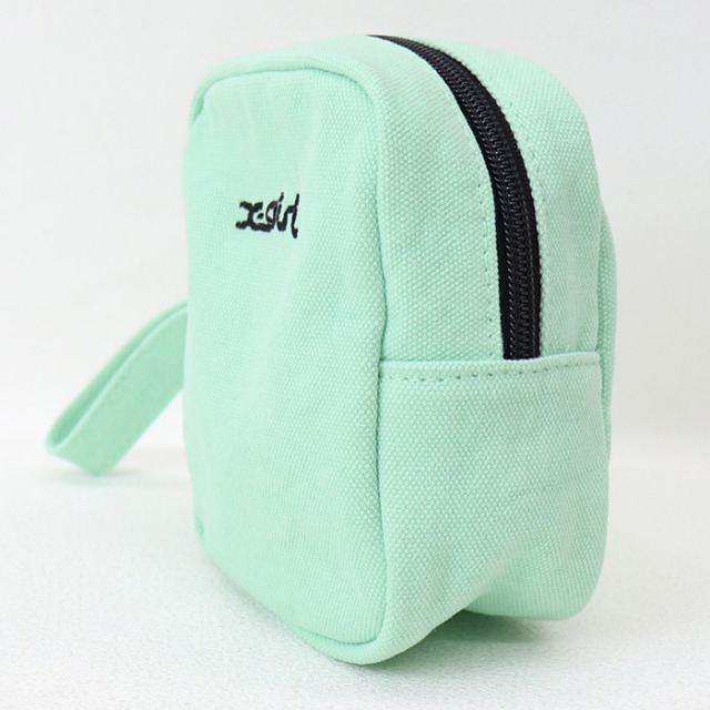 X-girl エックスガール CANVAS POUCH キャンバスポーチ 105211054020