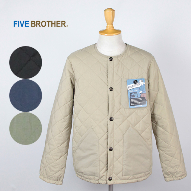 FIVE BROTHER/ファイブブラザー ナイロンキルトジャケット151880