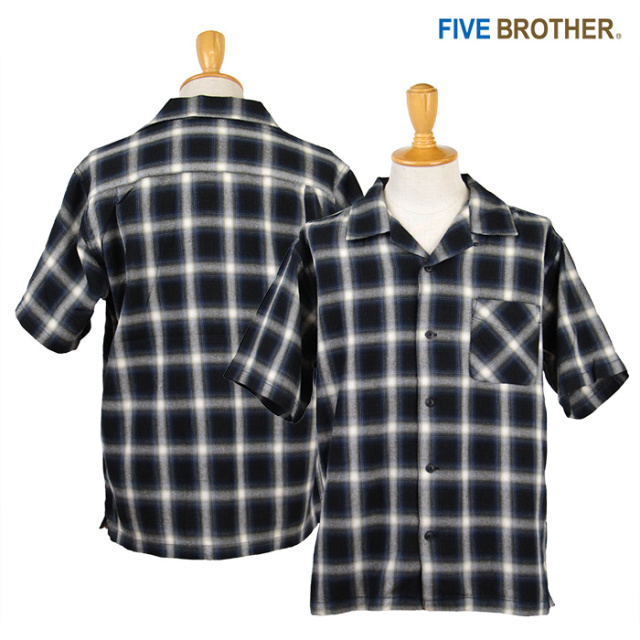 FIVE BROTHER,ファイブブラザー,シャツ,152004