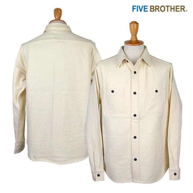 FIVE BROTHER,ファイブブラザー,ネルシャツ,152060