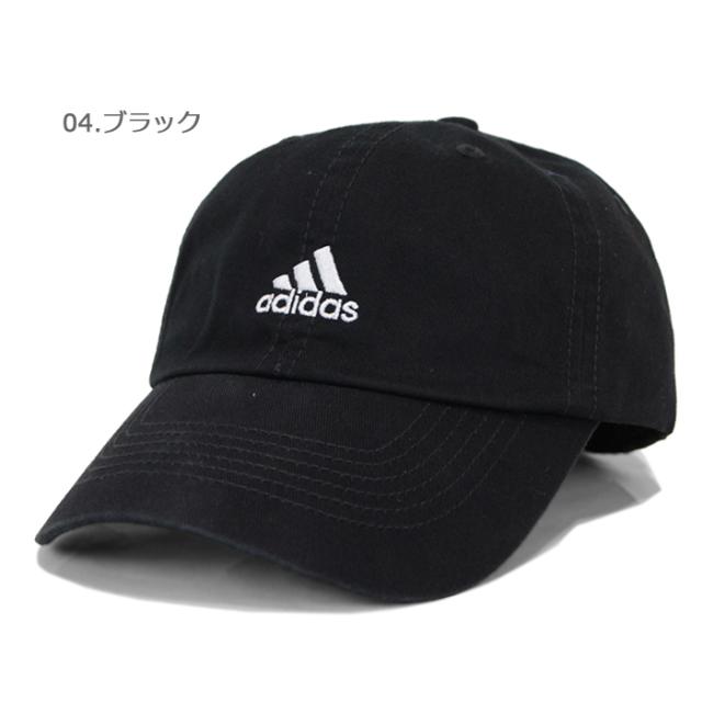 adidasアディダスコットンツイルローキャップ166-711641