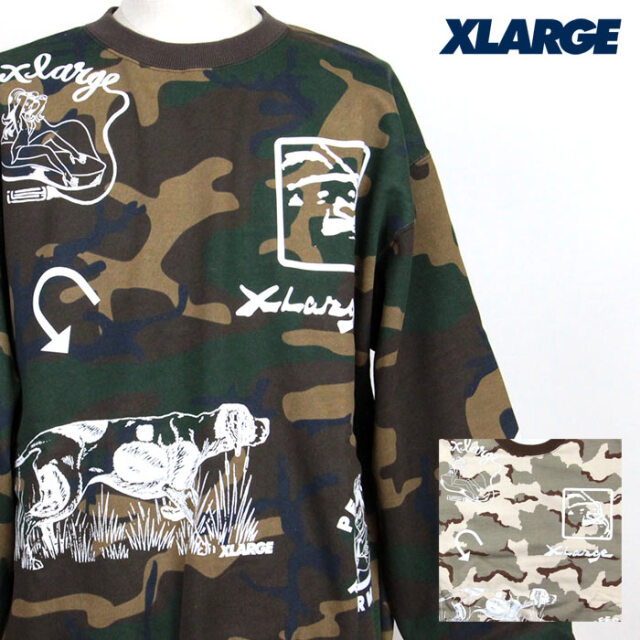 XLARGE,エクストララージ,スウェット,101213012004