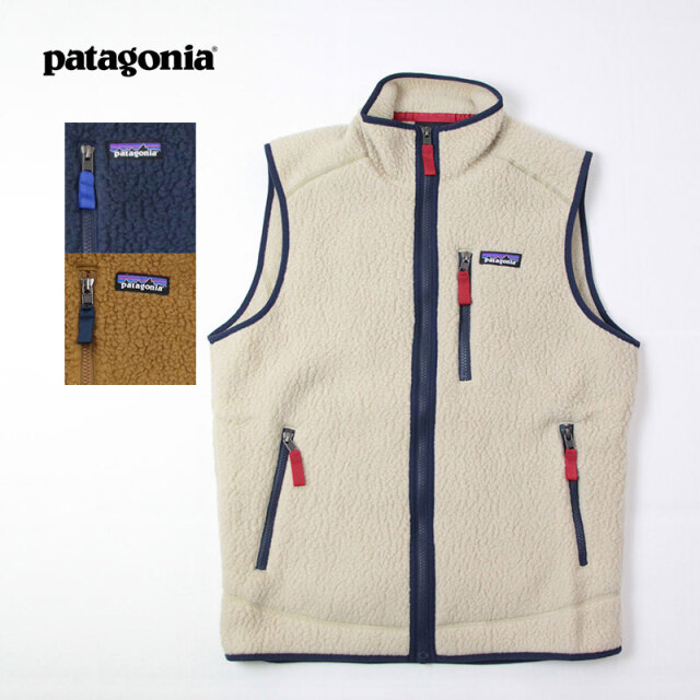 patagonia,パタゴニア,レトロパイル,ベスト,22821