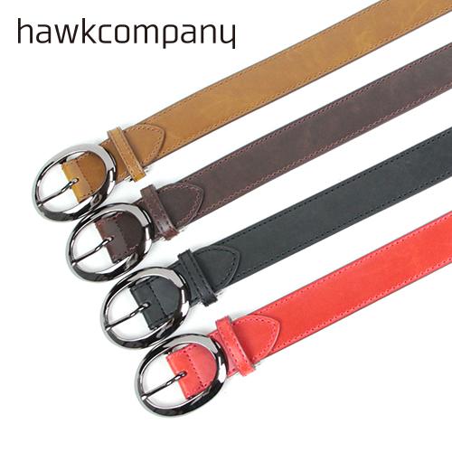hawkcompany/ホークカンパニー フェイクレザーバックルベルト 308