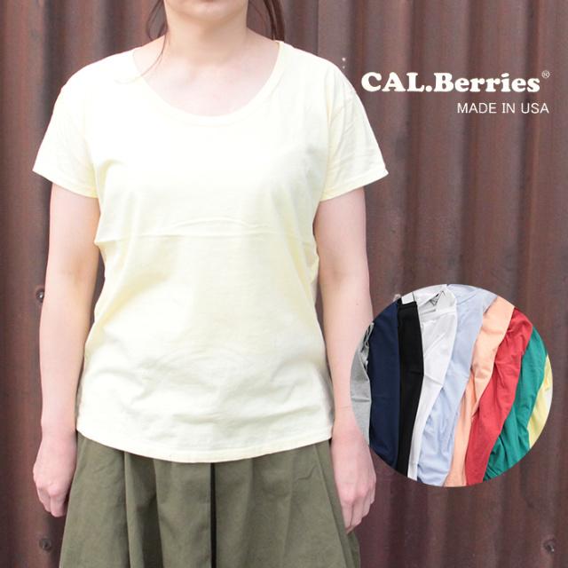 CAL.Berries カルベリーズ  レディース EASY BREEZY TEE 半袖Tシャツ 3540J002