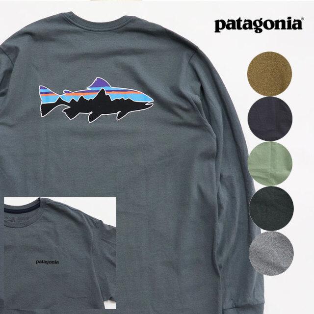 Patagonia パタゴニア メンズ・ロングスリーブ・フィッツロイ・トラウト・レスポンシビリティー  38516
