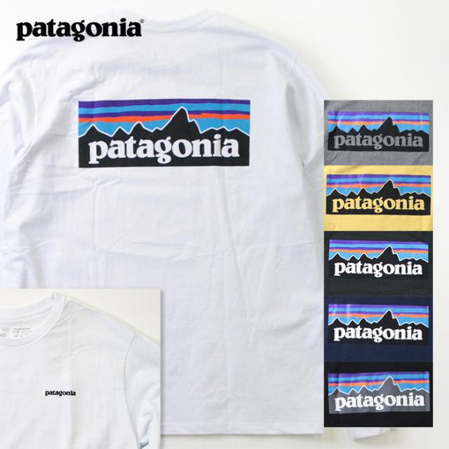 patagonia,パタゴニア,P-6ロゴTee,38518