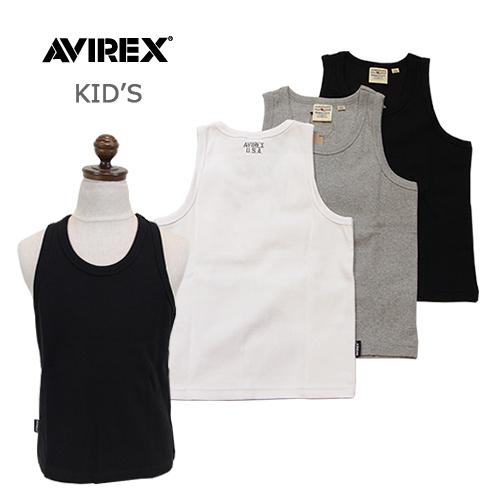 AVIREXアヴィレックス キッズデイリーリブ タンクトップ 6383503