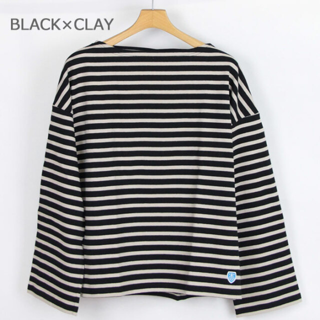 ORCIVAL オーシバル コットンロード ワイドフレンチバスクシャツ WOMEN B449