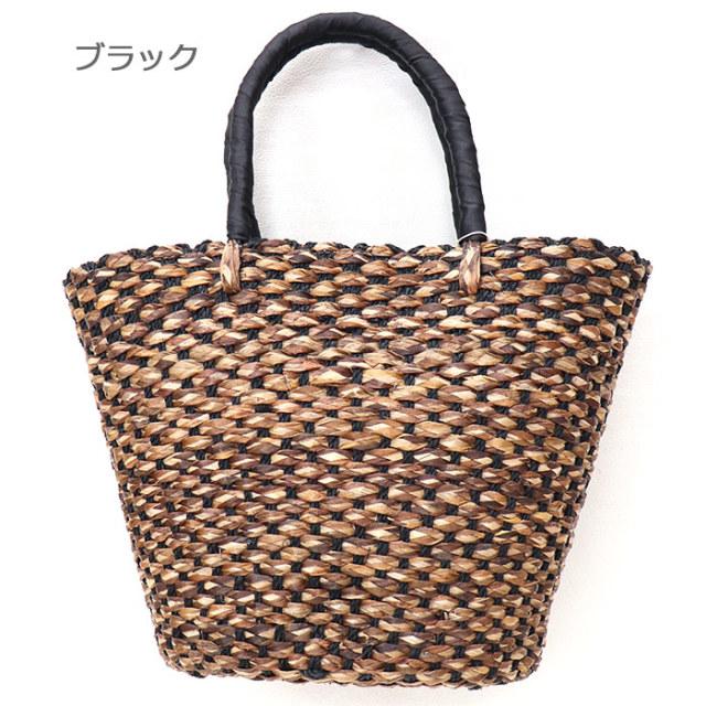 ANJOU CHOUETTE/アンジュ シュエット 手編みかごバッグ M B7290-M