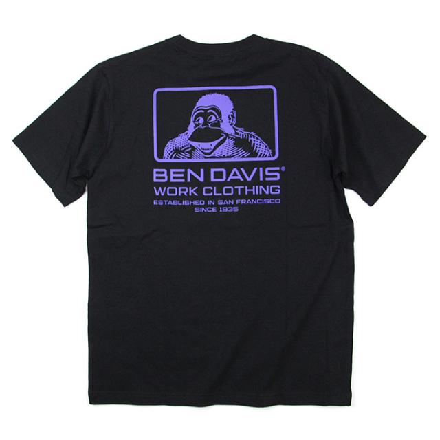 BEN DAVIS,ベンデイビス,Tシャツ,半袖,C-0580013