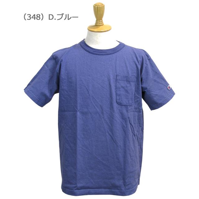 Champion チャンピオン  メンズ  T1011(ティーテンイレブン)ポケット付き US Tシャツ MADE IN USA C5-B303