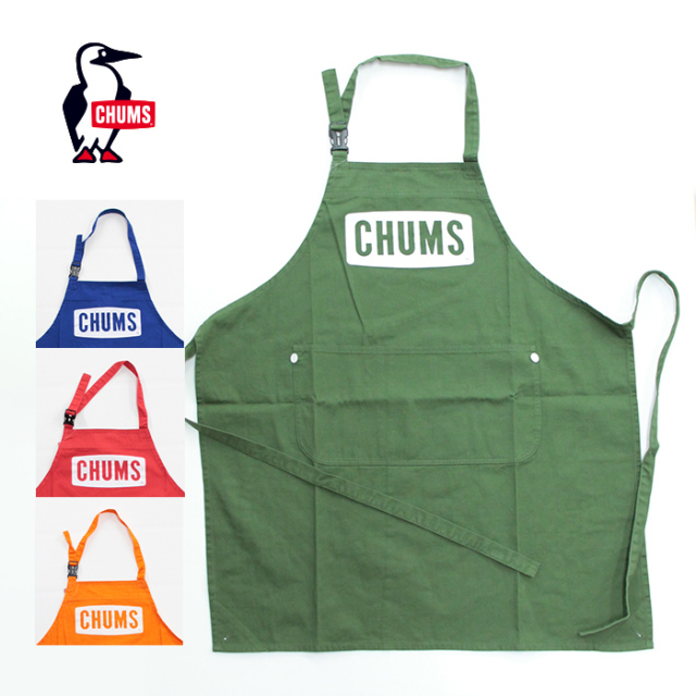 CHUMS,チャムス,エプロン,CH09-1187