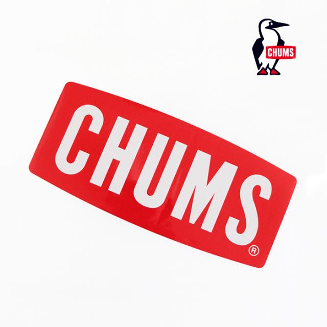 CHUMS チャムス Sticker CHUMS Logo Medium ロゴステッカー ミディアム CH62-1071