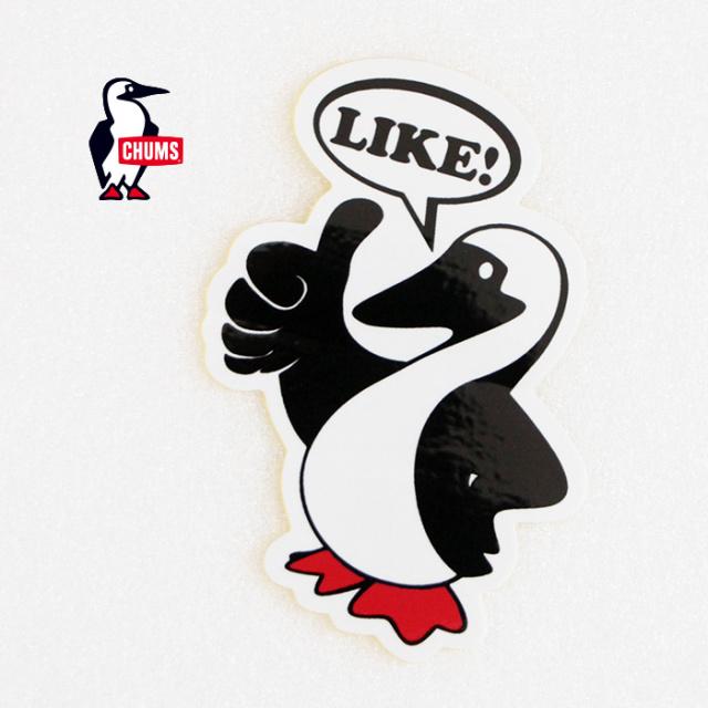 CHUMS チャムス Booby LIKE! Sticker ステッカー CH62-1117