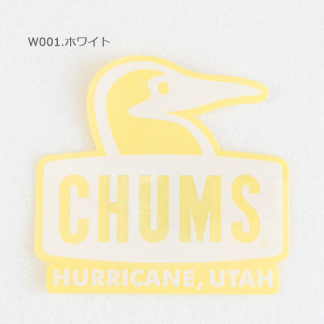 CHUMS チャムス Sticker Booby Face ブービーフェイスステッカー CH62-1124