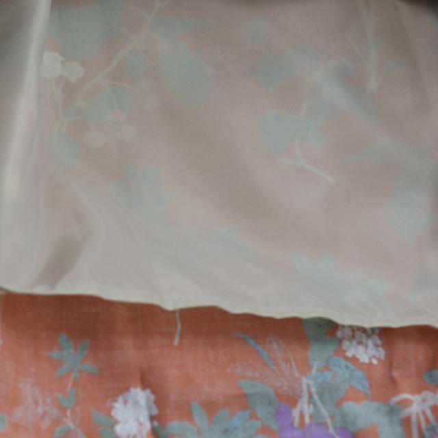 Chloro sister  クロロシスター  レディース  裏地付き柄スカート CS1051