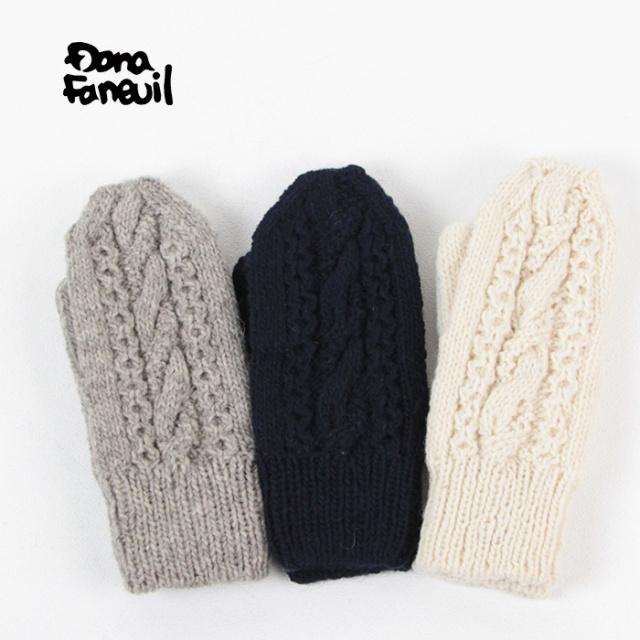Dana Faneuil/ダナファヌル ニットグローブ D-1318401