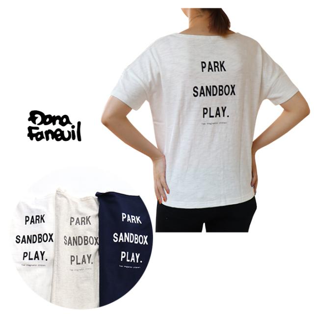 Dana Faneuil ダナファヌル レディース バックロゴTシャツ D-5620208
