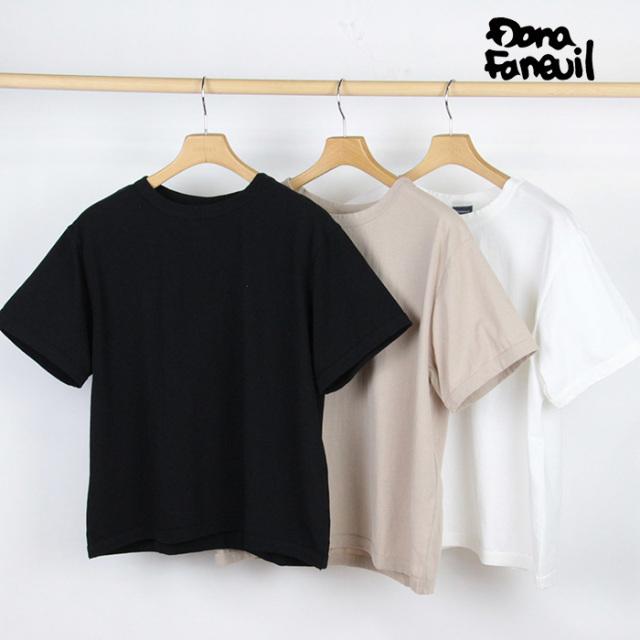 【20%OFF】Dana Faneuil ダナファヌル レディース ラスティック天竺 Tシャツ D-5620211A