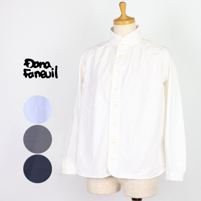 Dana Faneuil ダナファヌル レディース ワンピースカラーシャツ D-6319312