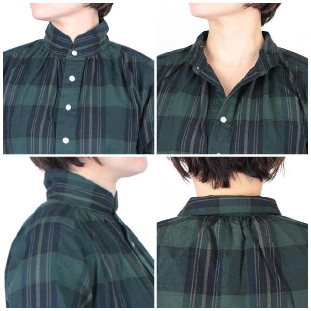 Dana Faneuil ダナファヌル  レディース  ツイルチェックシャツ D-6321310