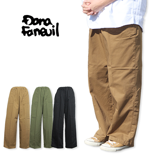 Dana Faneuil/ダナファヌル イージーパンツ D-7318303