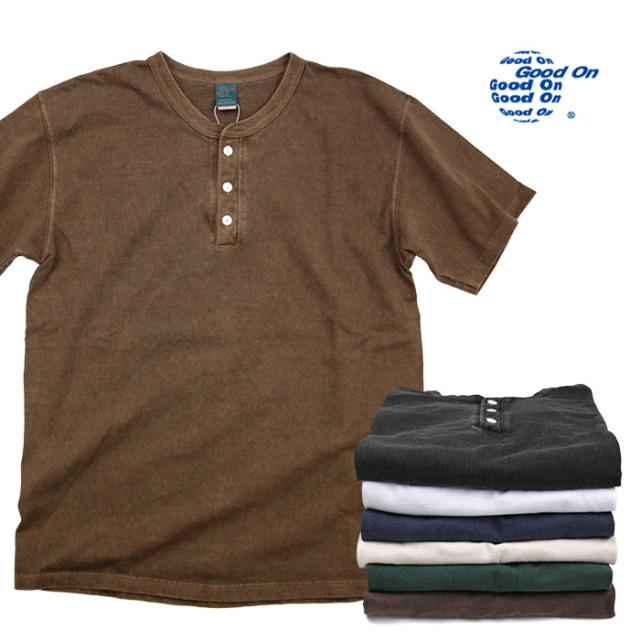 Good On,グッドオン,Tシャツ,ヘンリー,GOST1102