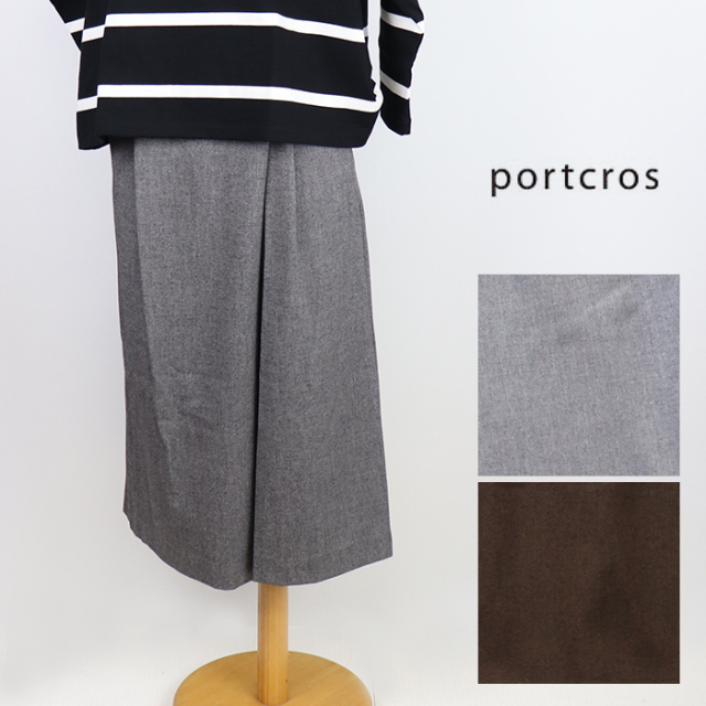 portcros ポートクロス レディース ダブルクロスドビーパンツ I-8494